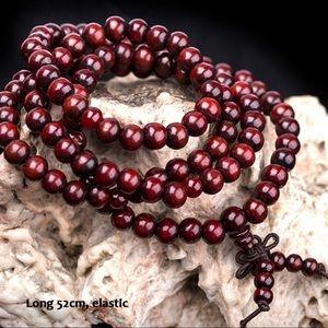 NEW 6mm Bead Mala Rosewood Zen Prayer Bracelet